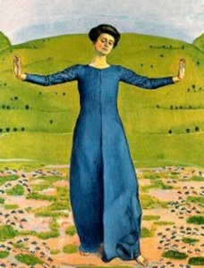 """""""Song in the Distance"""" Hodler, 1905"""
